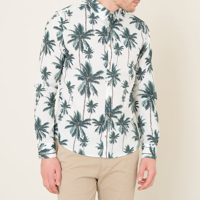 Chemise homme tropical
