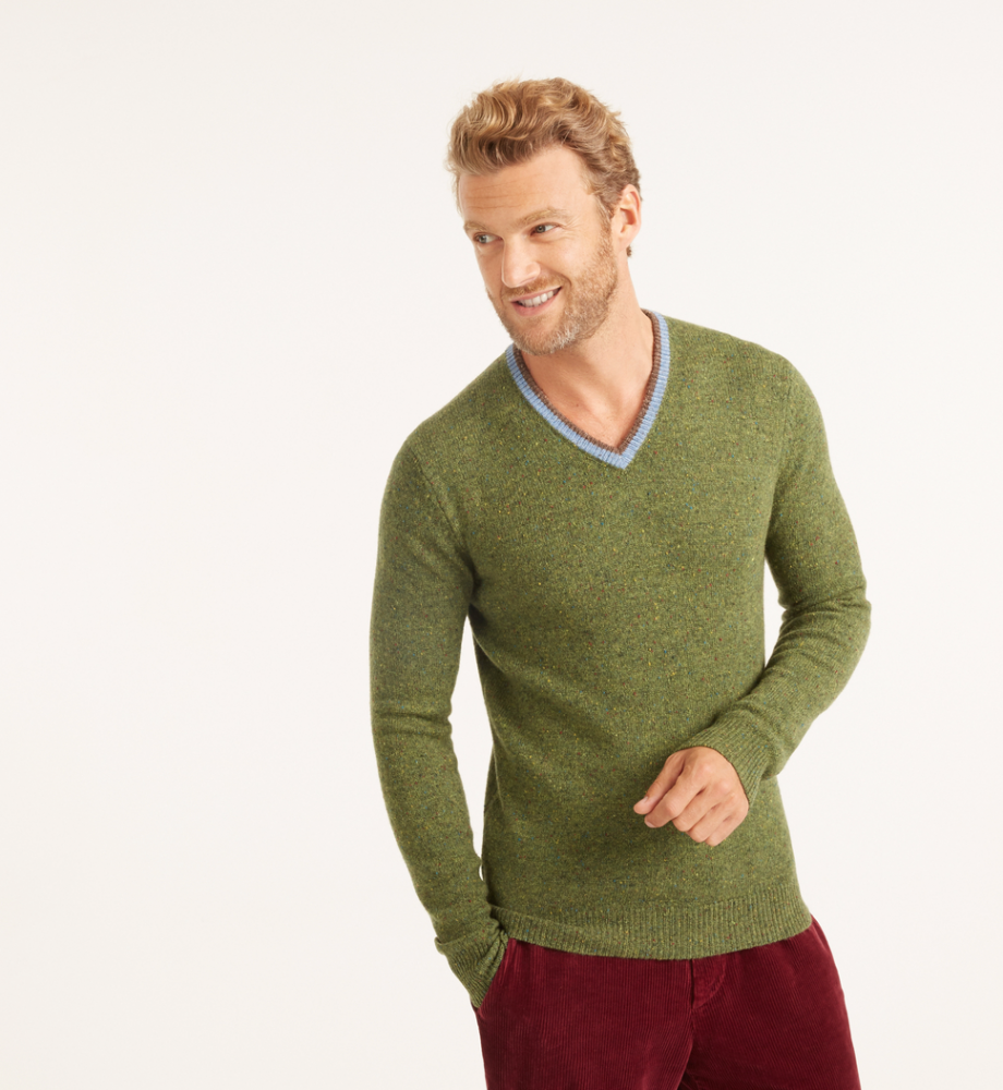 Pull homme rodier