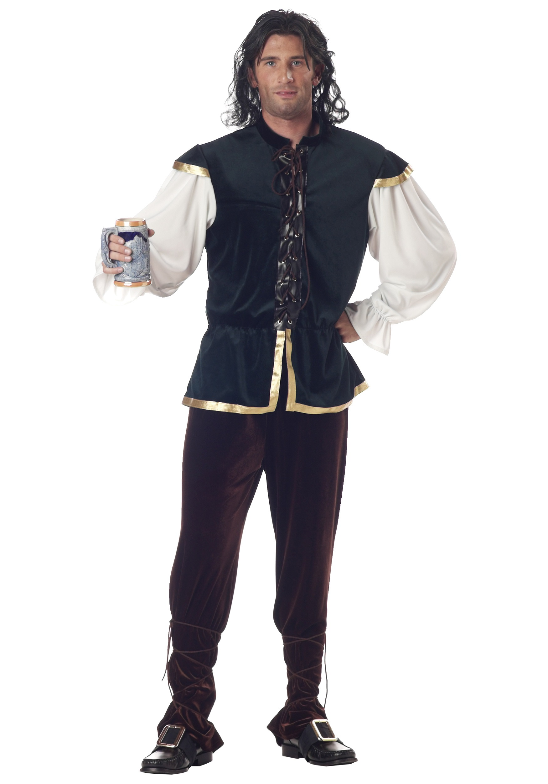 Caban homme costume