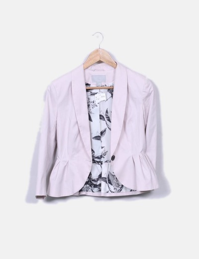 H&m blazer rose